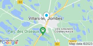 Plan Carte Janet à Villars-les-Dombes