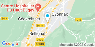 Plan Carte Ateo Energies à Oyonnax