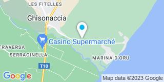 Plan Carte Mackenco à Ghisonaccia