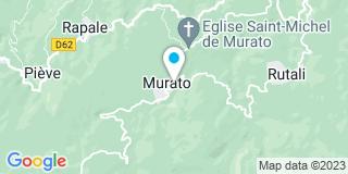 Plan Carte Murato Dépannage à Murato