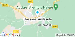 Plan Carte Elmi Fermetures à Flassans-sur-Issole