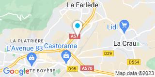 Plan Carte JS Menuiseries à la Gare