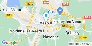 Plan Carte Baugey Joffrey à Vesoul