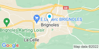 Plan Carte Tryba FPP à Brignoles