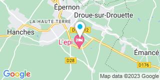 Plan Carte Société BOUCLET SAS à Épernon