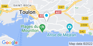 Plan Carte Miroiterie Degivry à Toulon