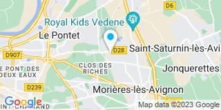 Plan Carte SEMSA à Vedène