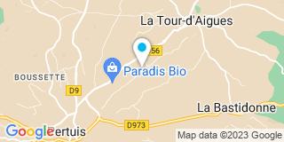 Plan Carte Dao Castellano Jean-Pierre à La Tour-d'Aigues