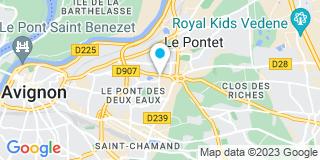 Plan Carte EDP Menuiserie Conseils à Avignon
