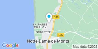 Plan Carte Menuiserie Générale Michel Naulleau à Notre-Dame-de-Monts