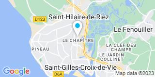 Plan Carte MCPI à Saint-Hilaire-de Riez