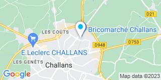 Plan Carte Menuiserie Bethuys à Challans