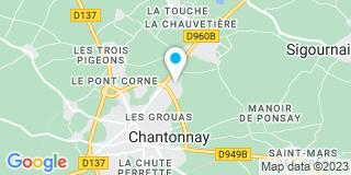 Plan Carte Loiseau Menuiserie à Chantonnay