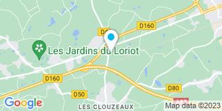 Plan Carte Gautier Jean-Paul à Les Clouzeaux