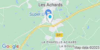 Plan Carte Huet Menuiserie Mothaise à La Mothe-Achard