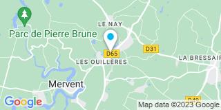 Plan Carte Coudronnière à Mervent