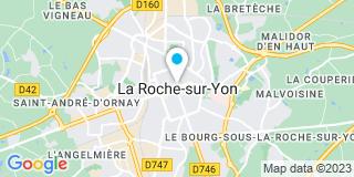 Plan Carte Alu Rideau à la Roche-sur-Yon