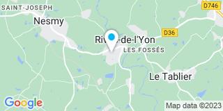 Plan Carte Landais Denis à la Chaille sous les Ormaux