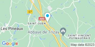 Plan Carte Vergnolle Régis à Bournezeau