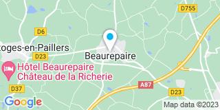 Plan Carte Besnard Patrice à Beaurepaire