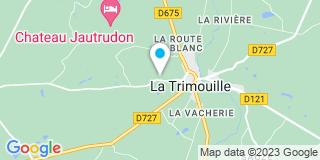 Plan Carte Abaux à La Trimouille