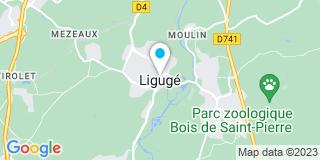 Plan Carte Champigny Segelles à Ligugé