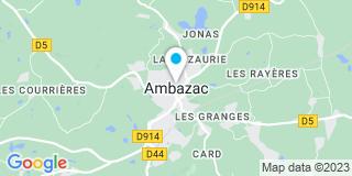 Plan Carte Lorgue à Ambazac