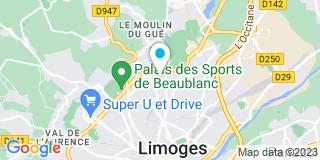 Plan Carte Mandonnaud Menuiserie à Limoges