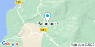 Plan Carte Proto Porto à Patrimonio