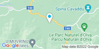 Plan Carte Alphonsi Dépannage Service à Sartène
