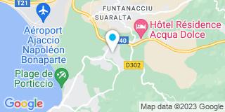Plan Carte Atout Poses Corse à Cauro
