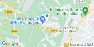 Plan Carte Equip'habitat à Limoges