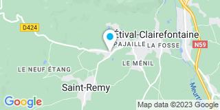 Plan Carte Boileau Agencements et Menuiserie à Etival-Clairefontaine