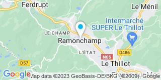 Plan Carte Vérandas et Fermetures à Ramonchamp
