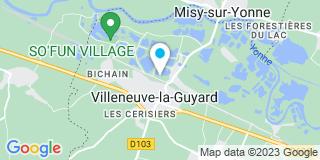 Plan Carte Petit Menuiserie à Villeneuve-la-Guyard