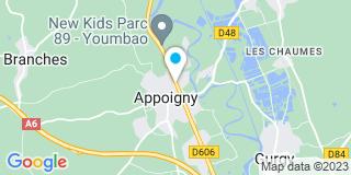 Plan Carte Appoigny Installation à Appoigny