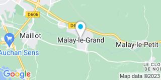 Plan Carte Varache à Malay-le-Grand