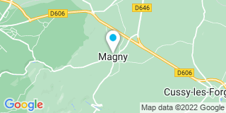Plan Carte Miroiterie Avallonnaise / MVSF à Magny