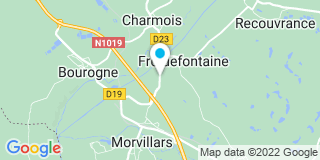 Plan Carte Sogycobois à Froidefontaine