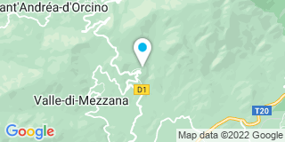 Plan Carte Corse Dépannage Service à Sarrola Carcopino