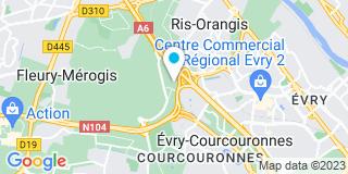 Plan Carte Menuiserie Ribet (Groupe Prisma) à Ris-Orangis