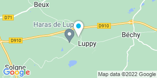 Plan Carte Thermasanit à Luppy