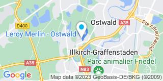 Plan Carte Saint Maclou à Ostwald