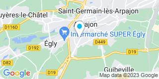 Plan Carte DH Rénovation à Arpajon