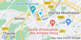 Plan Carte Rodrigues à Meudon