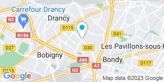 Plan Carte Système Renov à Drancy