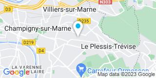 Plan Carte Vigier à Champigny-sur-Marne