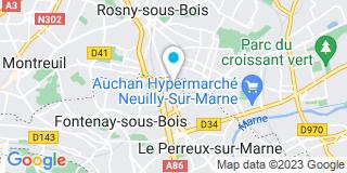 Plan Carte Delta Menuiserie à Fontenay-sous-Bois