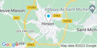 Plan Carte Bertrand Julie à Hirson