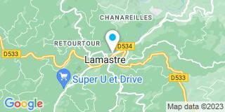 Plan Carte Le notaire Barnavon Pierre-Louis à Lamastre